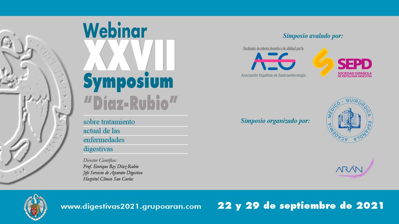 Symposium Diaz Rubio - Enfermedades Digestivas 2021